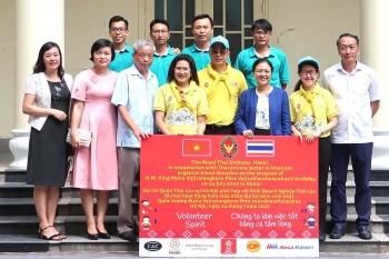 ambassador hails volunteerism in vietnam thailand friendship