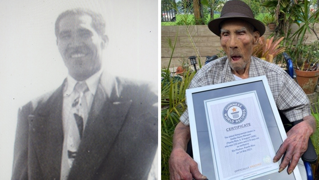 """The world's oldest living man shares key to have """"a long and happy life"""""""