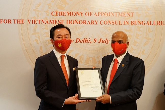 Vietnam Appoints Honorary Consul in India for First Time