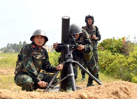 Rain or Shine, Vietnam's Artillery Team Getting Ready For 2021 Army Games
