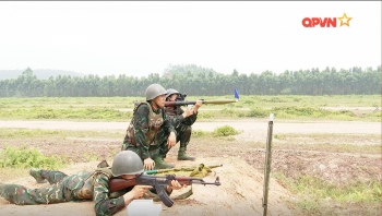 Vietnam's Artillery Team Train for 2021 Army Games