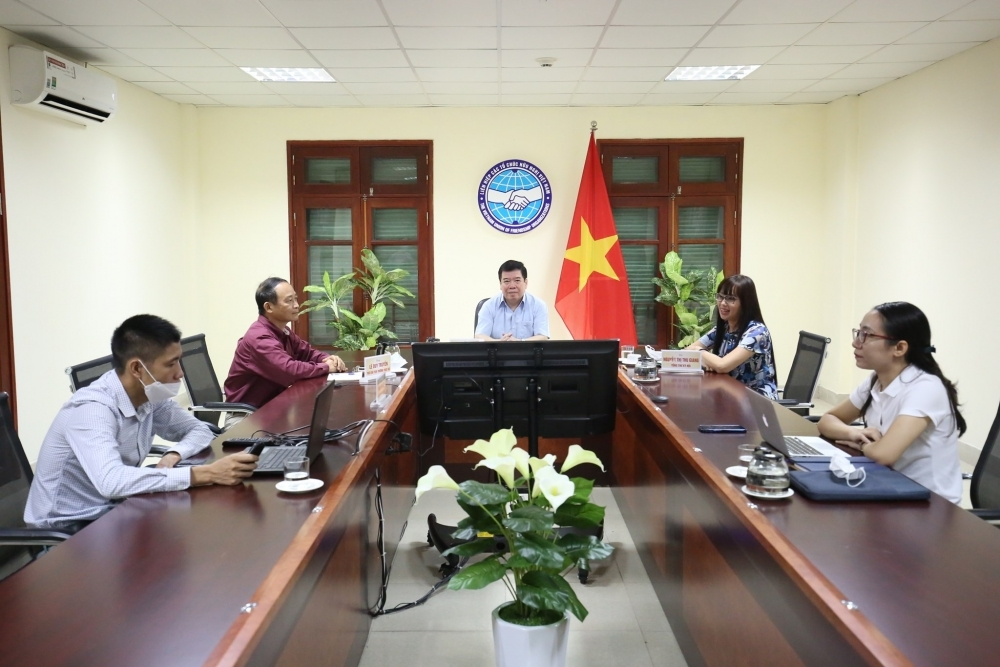 Vietnam-Venezuela Friendship Associations strengthen information exchange