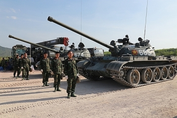 Tank Contingent Set Off for 2021 Army Games