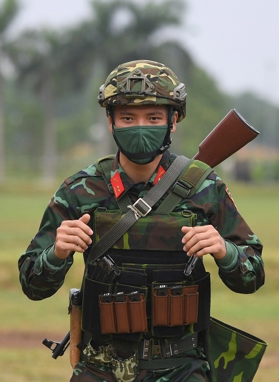 Vietnamese snipers determined and busy preparing for Army Games