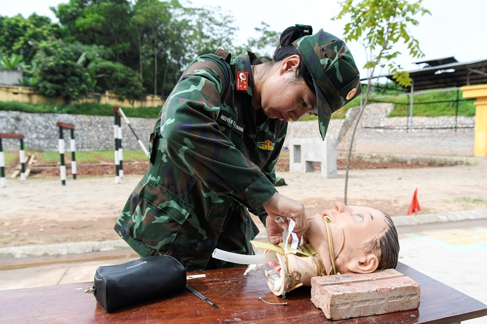 """Int'l Army Games 2021: """"Iron Roses"""" of Vietnamese Medical Contingent"""