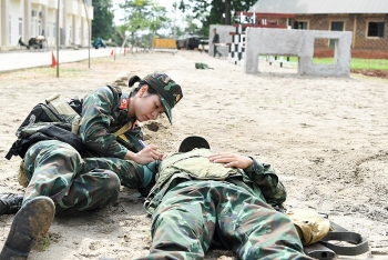 Vietnamese Female Military Doctors Impress at Int'l Army Games