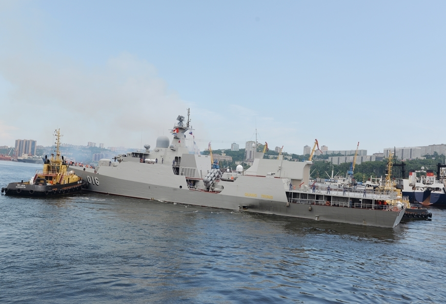 Vietnamese Naval Soldiers Arrives Russia for Naval Parade and 2021 Army Games