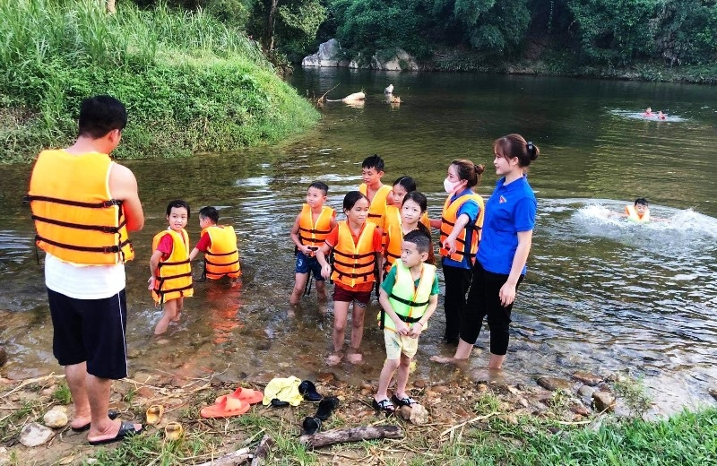 Tuyen Quang City Actively Prevents Children from Drowning