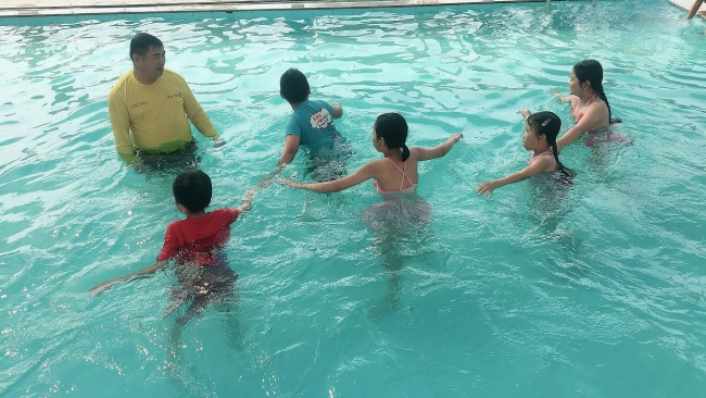 """Hue Help Continues """"Swimming for Safety"""" Project"""