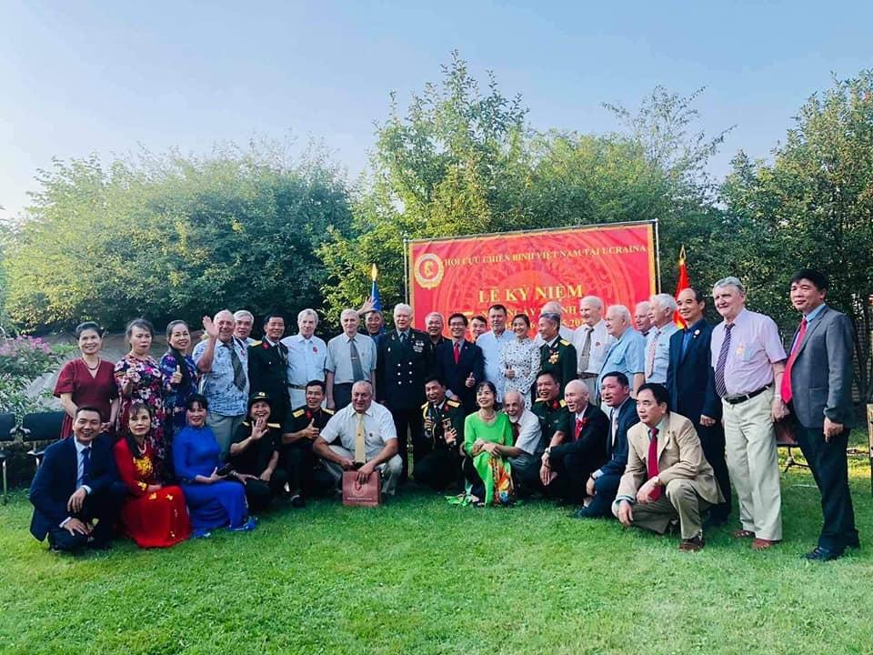 Vietnamese war veterans' association in Ukraine Marks Fifth Founding Anniversary