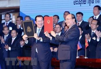 vietnam cambodia agree 500 sets of border topographic maps