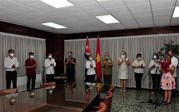 Vietnam - Cuba close ties amid COVID-19 fight highlighted in Havana