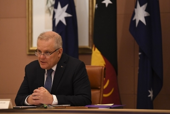 australian pm says indo pacific alliance critical priority warning militarisation in region