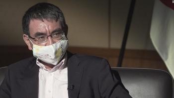 japans defense minister warns high cost china risks paying for south china sea intimidation