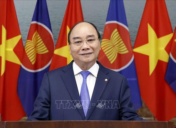 PM Nguyen Xuan Phuc's message on ASEAN's anniversary hinh anh 1