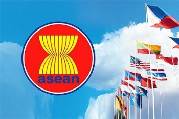 asean foreign ministers release statement on regional peace stability for the first time