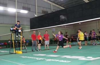 vietnam laos sport exchange programme held in vientiane