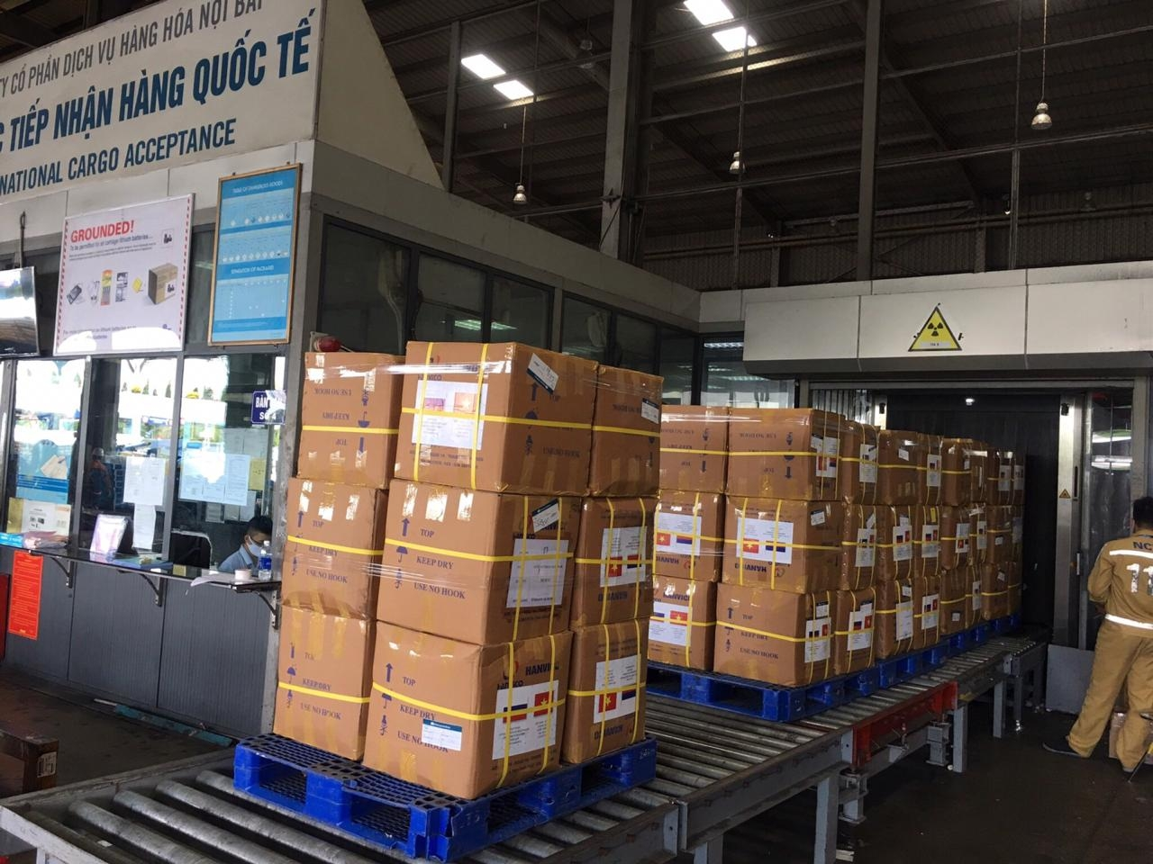 vietnams medical supplies transported to russia