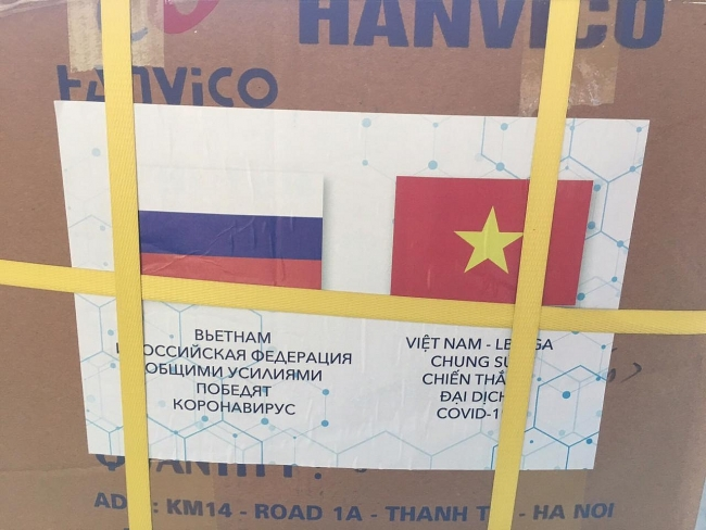 COVID-19: Vietnam's medical supplies transported to Russia; domestic cases reach 863