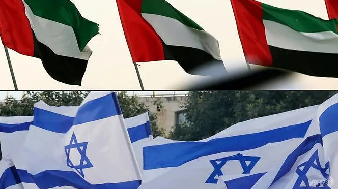 israel uae reach historic deal to normalise relations with us help