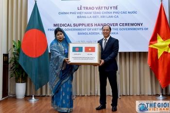 vietnam gifts usd 60000 medical supplies to bangladesh and sri lanka
