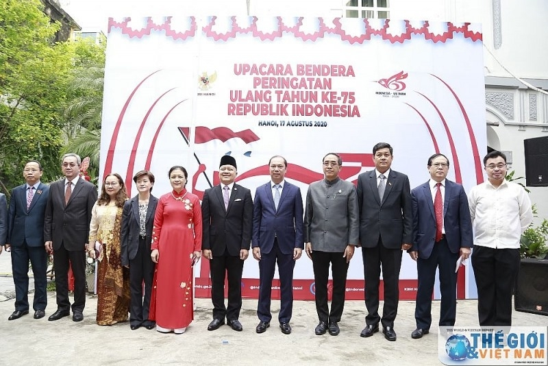 Indonesia's Independence Day observed in Hanoi