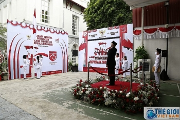 indonesias independence day observed in hanoi