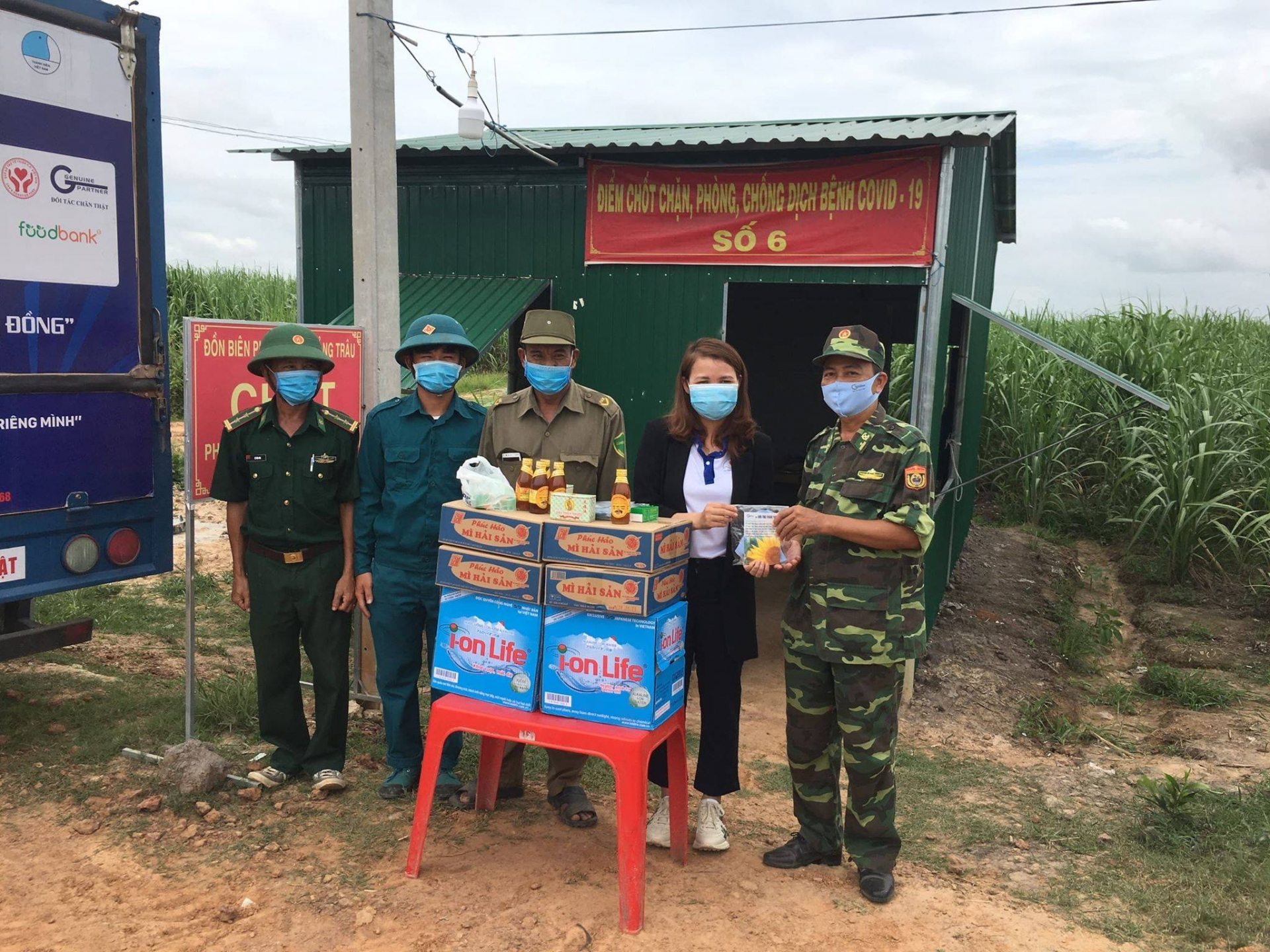 hufo supports medical supplies to military unit in tay ninh