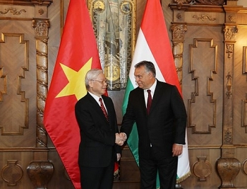 message of congratulations on the national day of hungary