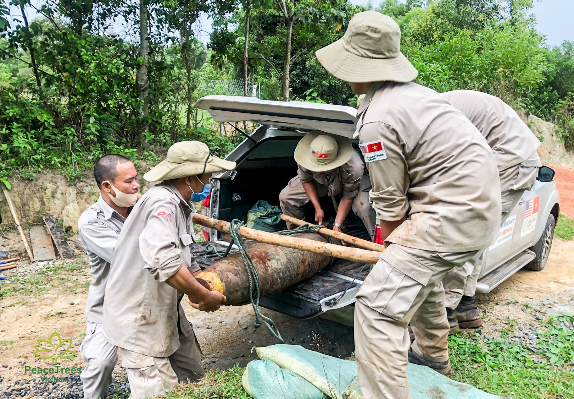 PeaceTrees continues UXO clearing efforts in Quang Tri