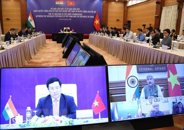 Vietnam, India aim at 15 billion USD two way trade