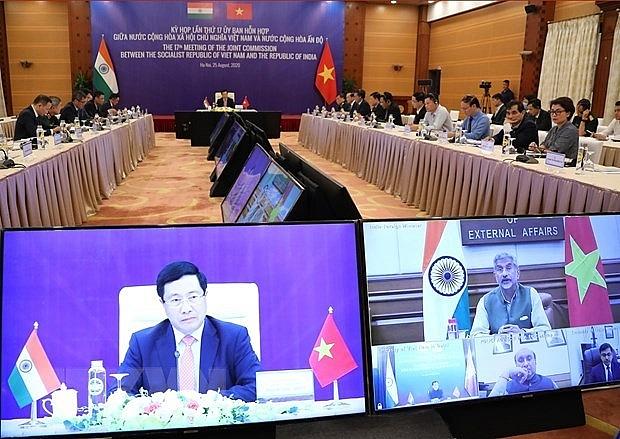 Vietnam, India aim at 15 billion USD two-way trade