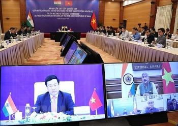 vietnam india aim at 15 billion usd two way trade