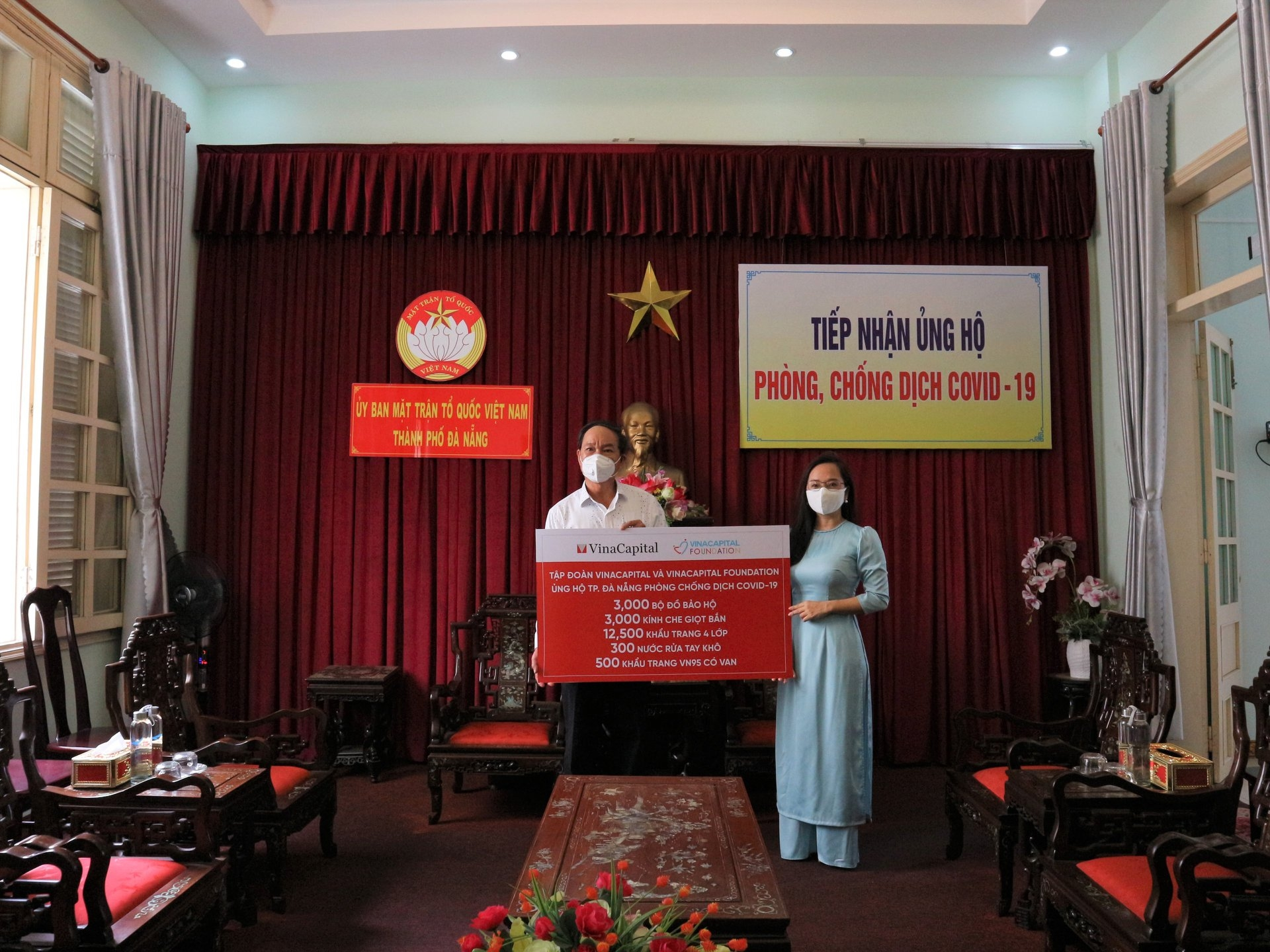 Da Nang received support to cope with COVID 19