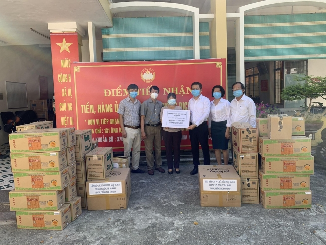 Donations continue to strengthen COVID-19 fight in Da Nang