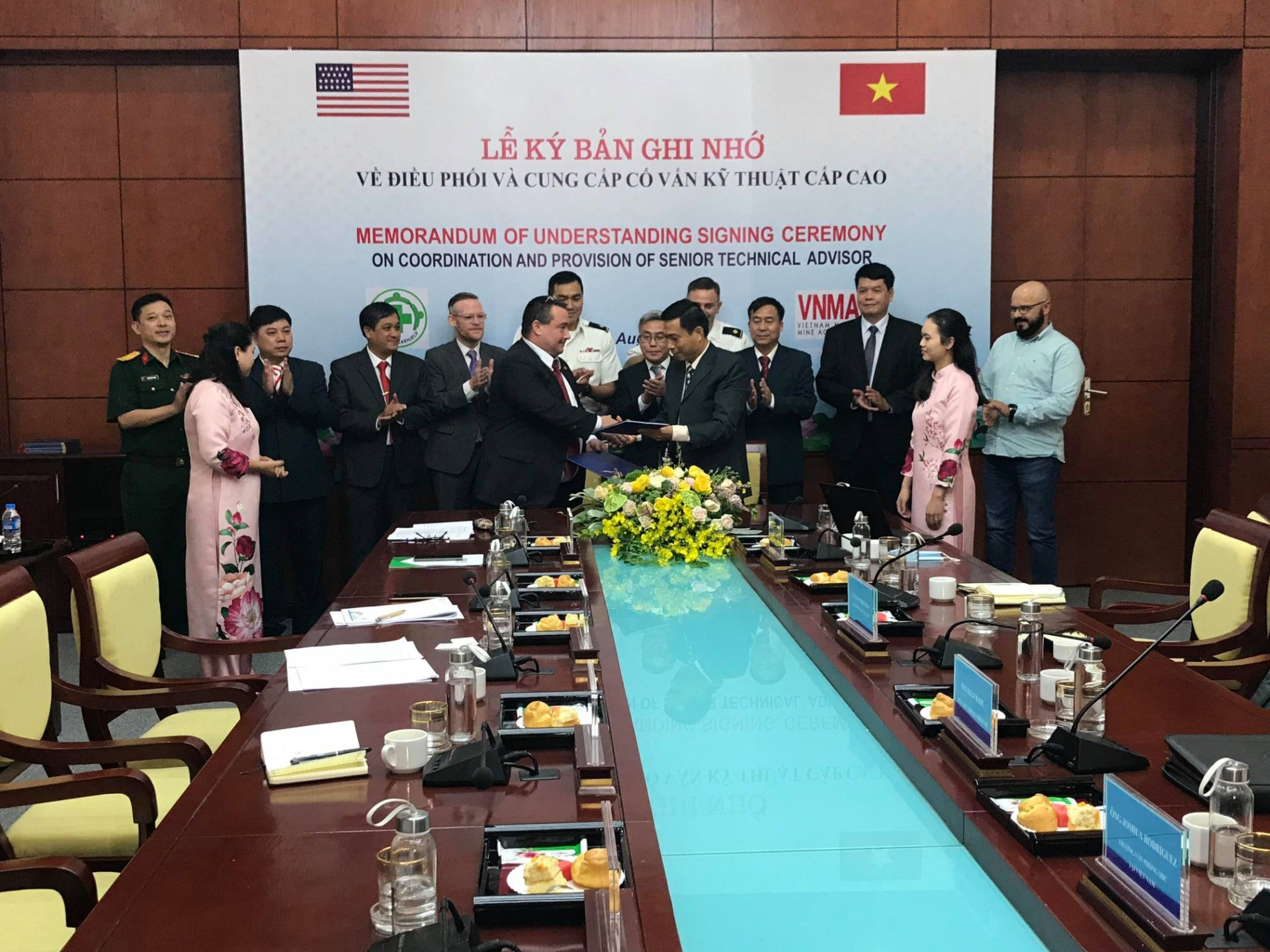 NPA continues to support Vietnam National Mine Action Centre
