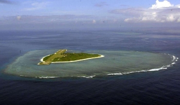 vietnam protests the philippines recent naming of six sandbars reefs near vietnams island