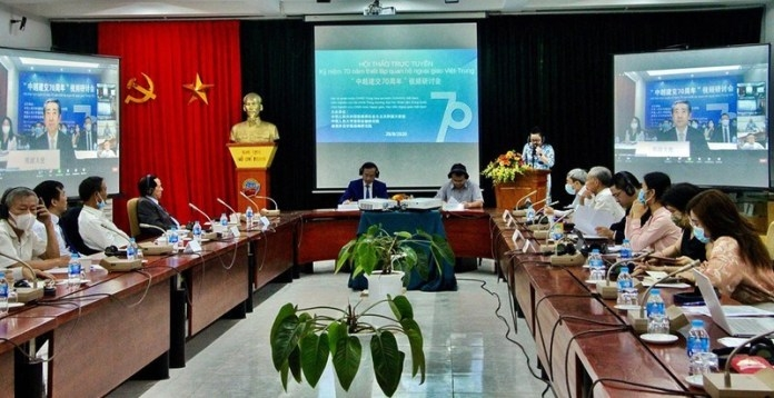 Conducting in depth researches and exchanges to deepen vietnam-china relations