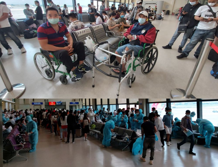 Over 570 Vietnamese citizens brought home within two days