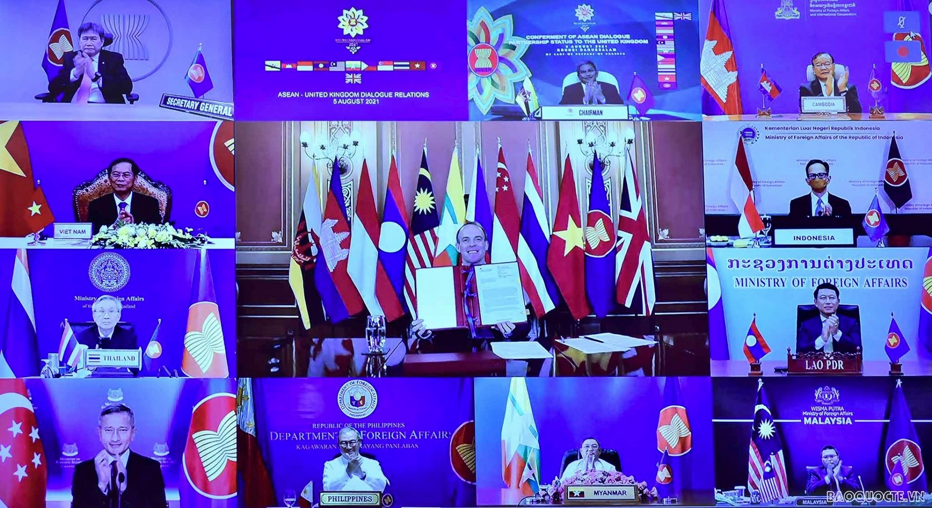 UK Becomes 11th Dialogue Partner of ASEAN