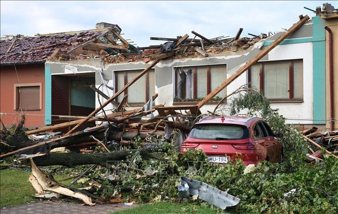 Vietnamese in Czech support locals hit by tornado