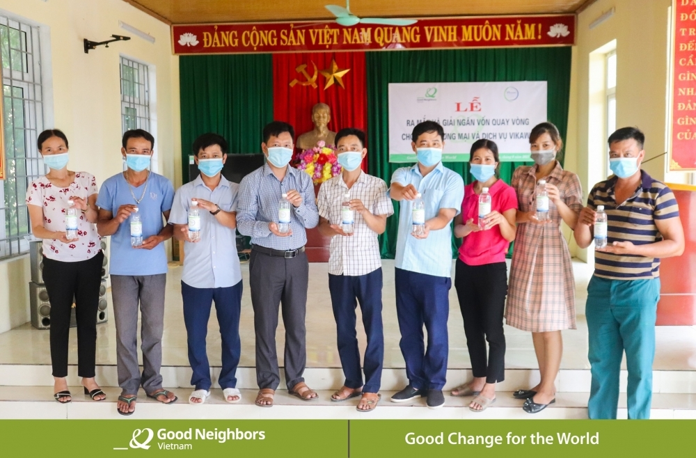 GNI improve the rural drinking water supply in Thanh Hoa