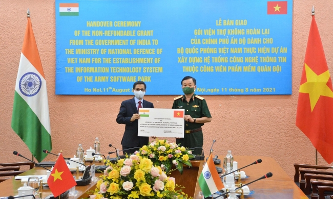 Vietnamese Defence Ministry Received USD 1 million from India to Build IT System
