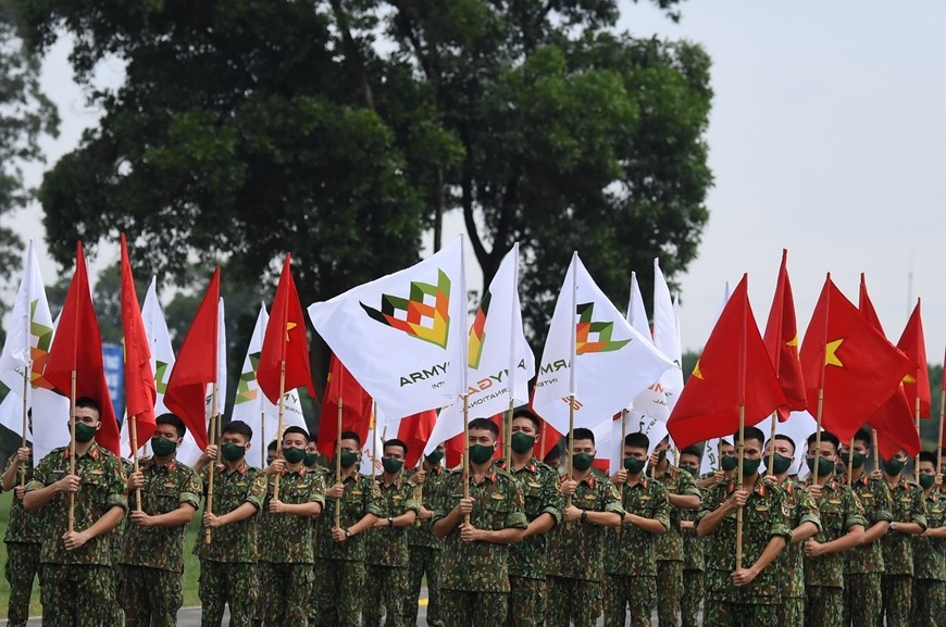 Vietnam Preparing for Opening Ceremony of Army Games 2021