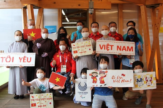 Tokyo Paralympics: OVs in Japan support Vietnamese athletes
