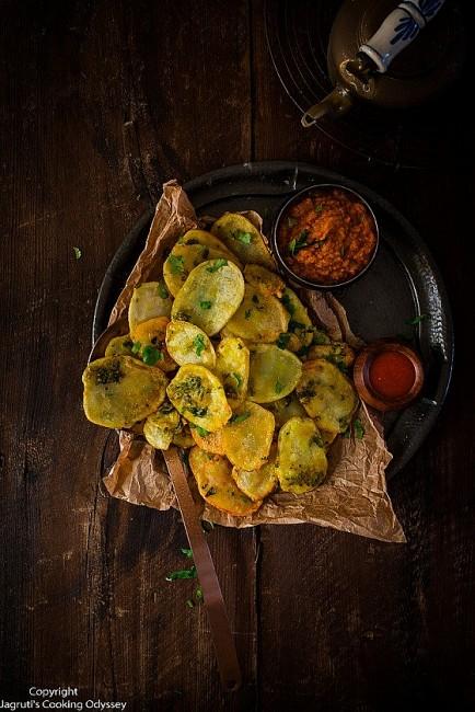 Easy Recipe: Indian fries (Chana Na Bhajia)