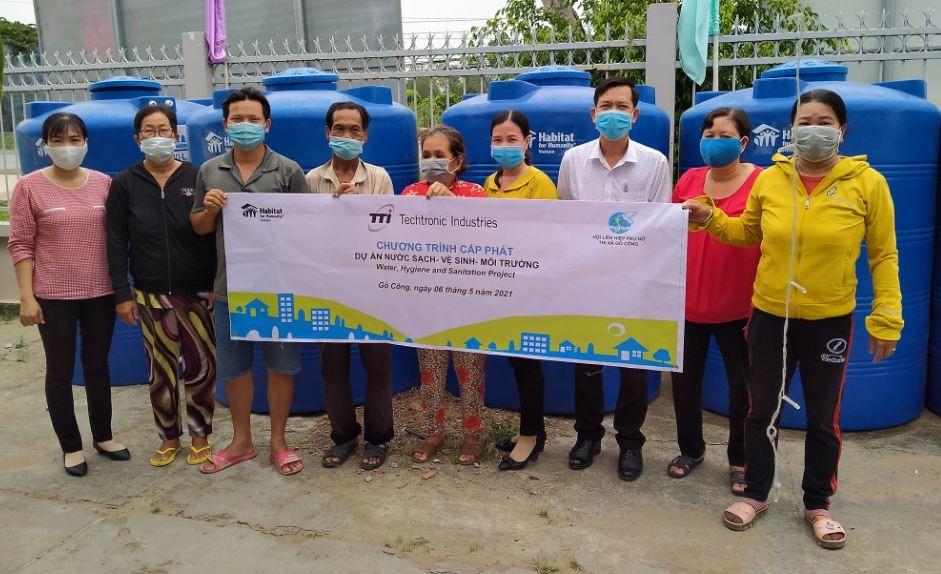 Habitat helps building healthy and safe communities in Tien Giang