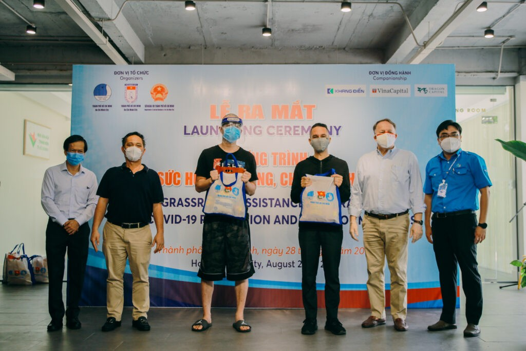 Ho Chi Minh City Youth Union Received USD-44.000 Covid financial Relief Sum