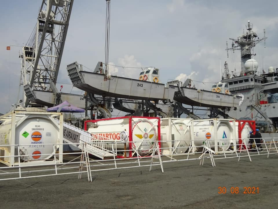 Indian Ship Arrives In Vietnam With 100 Tonne of Liquid Oxygen