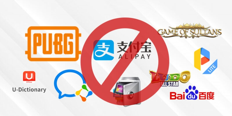 What're 118 Chinese apps banned by India